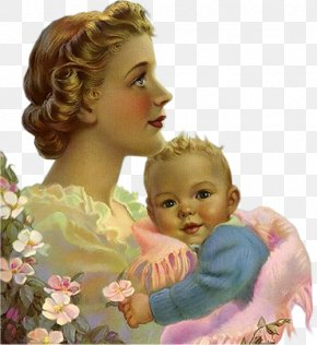 Mother's Day - Mother Child Infant Family Son PNG