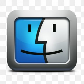 Finder Mac Icon - Macintosh Operating Systems MacOS Clip Art PNG