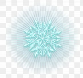 Ice Blue Shining Snowflake Clipart Picture - Snowflake Ice Clip Art PNG