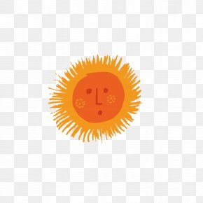 Q Version Of The Sun Avatar - Emoticon Logo Circle Wallpaper PNG