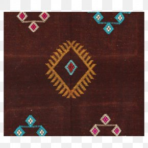 Carpet - Textile Kilim Silk Carpet Brown PNG