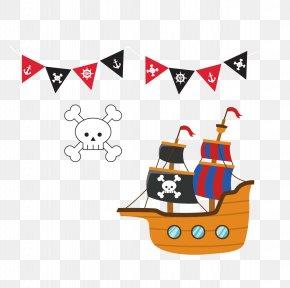 Pirate Ship - Piracy Ship PNG