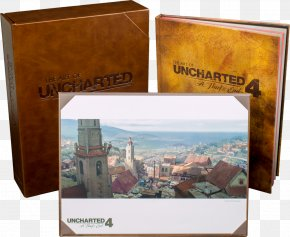 Uncharted - The Art Of Uncharted 4: A Thief's End PlayStation 4 Book Hardcover PNG