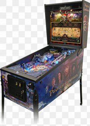 Pirates Of The Caribbean - The Pinball Expo Pirates Of The Caribbean Jersey Jack Pinball Arcade Game PNG