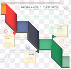Spiral Business Technology Material Vector - Infographic Illustration PNG