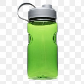 Green Plastic Space Cup - Water Bottle Plastic Bottle Glass Cup PNG