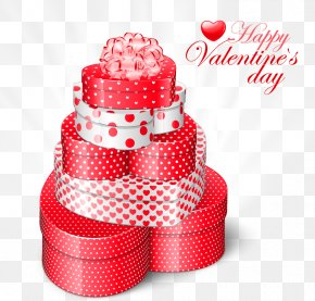Valentines Heart Gift Boxes PNG Clipart Picture - Valentine's Day Gift Heart Clip Art PNG