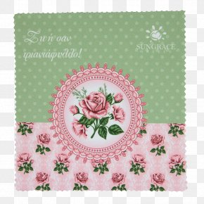 CLEANING CLOTH - Decoupage Paper Picture Frames Floral Design PNG