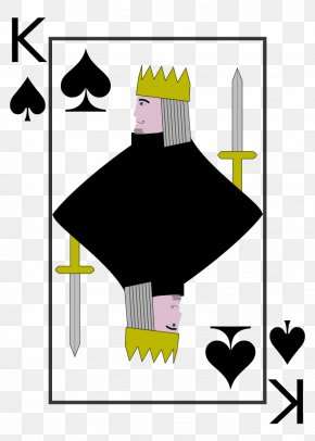 King - King Of Spades King Of Spades Playing Card Cassino PNG