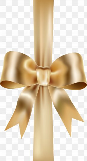 Elegant Bow With Ribbon Clip Art - Bow And Arrow Icon Computer File PNG