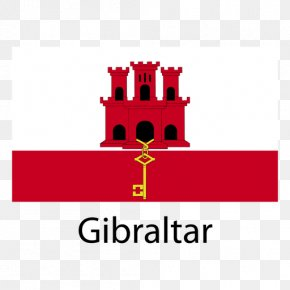 National Vector - Flag Of Gibraltar British Overseas Territories National Flag Flag Institute PNG
