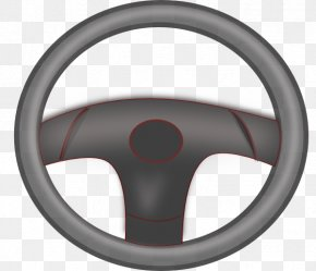 Wheels Clipart - Car Steering Wheel Clip Art PNG