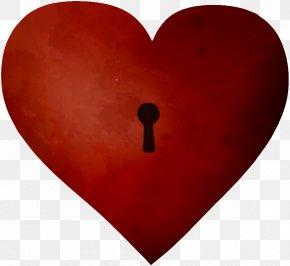 Heart-shaped Key - Heart Key Euclidean Vector PNG