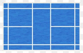 Blue Badminton Court - Window Arts And Crafts Movement Interior Design Services Molding Door PNG