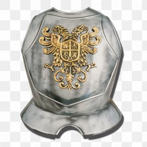 Knight Armour - Breastplate Plate Armour Components Of Medieval Armour Body Armor PNG
