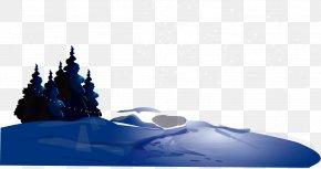 Creative Night Snow Snow - Daxue Winter Night Snow PNG
