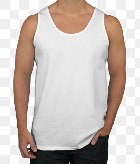 T-shirt - T-shirt Sleeveless Shirt Undershirt Gildan Activewear PNG