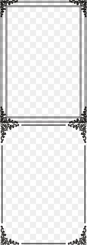 Vector Cartoon Black Frame - Cartoon PNG