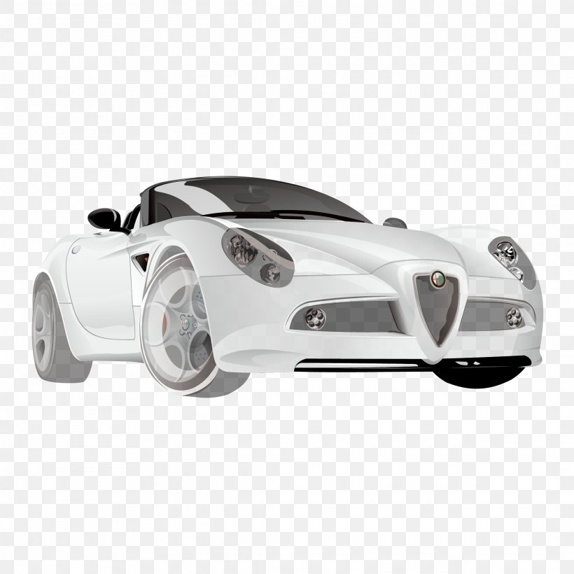 Sports Car Auto Racing Supercar, PNG, 2126x2126px, Car, Alfa Romeo, Auto Racing, Automotive Design, Automotive Exterior Download Free
