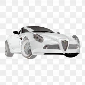 Super High-end Sports Car - Sports Car Auto Racing Supercar PNG