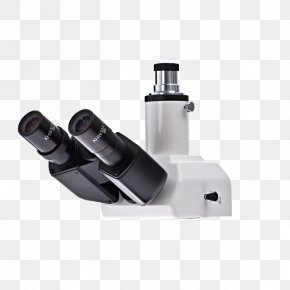 Digital Inverted Microscope - Optical Microscope Laboratory Microscopy PNG