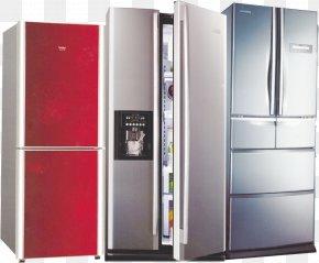 Refrigerator - Refrigerator Home Appliance Congelador PNG