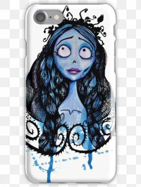 T-shirt - Corpse Bride T-shirt Watercolor Painting Art Drawing PNG