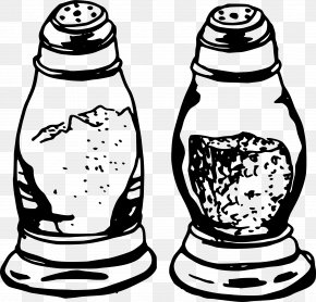 Salt - Salt And Pepper Shakers Black Pepper Capsicum Clip Art PNG