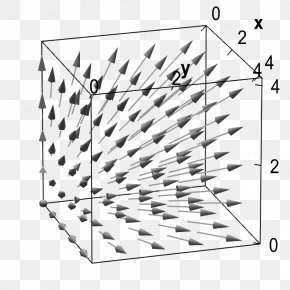 Fields Vector - Vector Field Three-dimensional Space Shape PNG