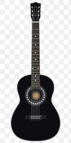Black Guitar - Acoustic Guitar Dreadnought Seagull Effects Unit PNG