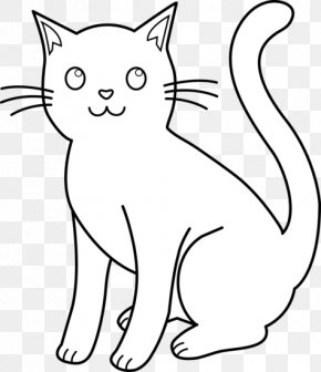 Cat Cliparts - Cat Kitten Dog Clip Art PNG