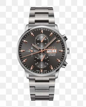 Watch - Mido Automatic Watch Chronograph Clock PNG