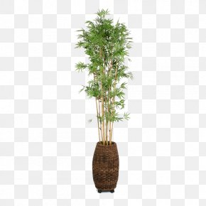 Household Pots Potted Bamboo Weaving - Flowerpot Bamboo Weaving Houseplant PNG