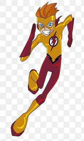 Kid Flash Transparent - Flash Cyborg Green Arrow Wally West Roy Harper PNG