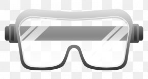 Glasses - Goggles Safety Glasses Clip Art PNG