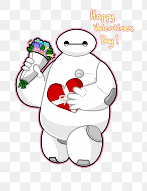 Valentine's Day - Baymax Valentine's Day YouTube The Walt Disney Company Clip Art PNG