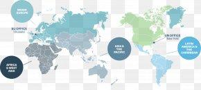 World Map - Globe World Map PNG