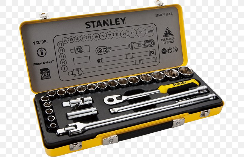 Stanley Hand Tools Spanners Socket Wrench, PNG, 691x530px, Hand Tool, Dewalt, Hardware, Power Tool, Ratchet Download Free
