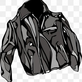 Jacket - Leather Jacket Coat Clip Art PNG