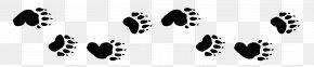 Bear - American Black Bear Animal Track Clip Art PNG
