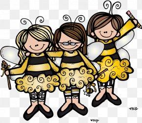 Doodle - Western Honey Bee Beehive Clip Art PNG