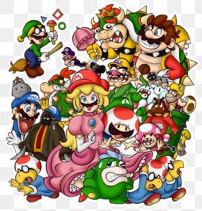 Mario - Super Mario Bros. Lakitu Super Smash Bros. Brawl Bowser PNG