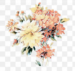 Floristry Petal - Bouquet Of Flowers Drawing PNG