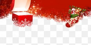 Animation Christmas Decoration - Merry Christmas Happy New Year Christmas Background PNG