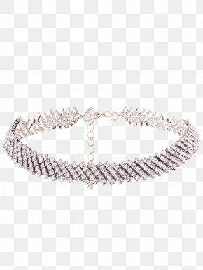 Jewelry Rhinestone - Jewellery Necklace Chain Earring Choker PNG