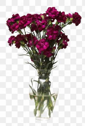 Vase Of Flowers - Flower Bouquet Vase Photography PNG