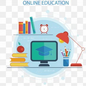 Online Education Vector - Educational Technology Distance Education Course PNG