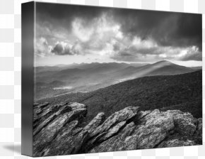 Grandfather Mountain, NC. Blue Ridge Parkway Fine Art Misty MountainBlue Mountains - Rough Ridge Lookout PNG