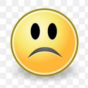 Sad - Smiley Emoji Emoticon Sadness Clip Art PNG