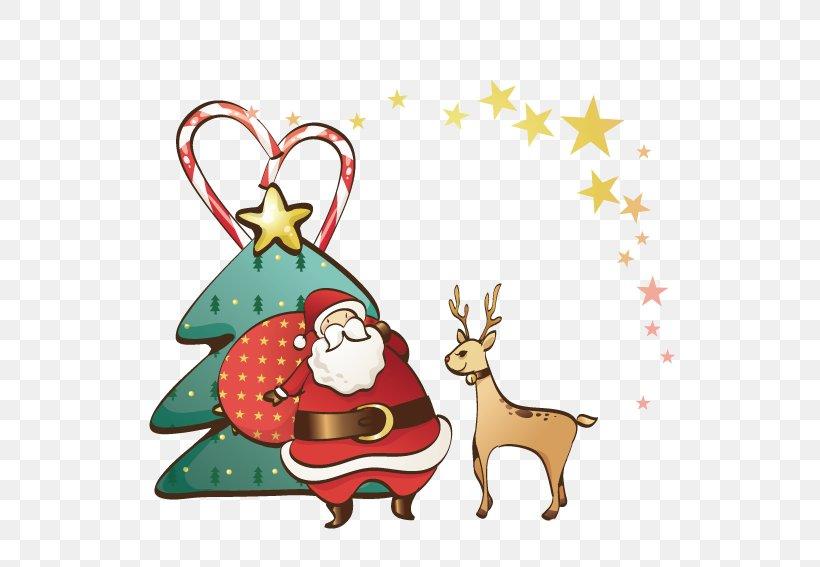 Ded Moroz Snegurochka Santa Claus Christmas Clip Art, PNG, 567x567px, Ded Moroz, Antler, Christmas, Christmas And Holiday Season, Christmas Decoration Download Free